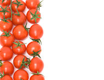 Closeup of cherry tomatoes Royalty Free Stock Photos