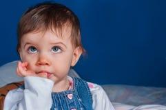 Closeup of a child Stock Photos