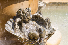 Closeup child sculpture Royalty Free Stock Photography