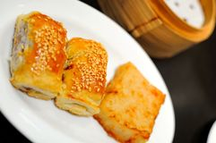 Closeup of Chinese pastry Royalty Free Stock Image