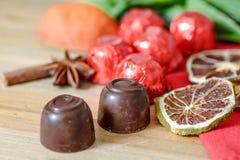 Closeup chocolate Stock Photography