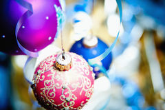 Closeup Christmas ball Stock Photo