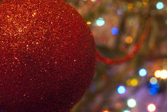 Closeup of Christmas ball from Stock Photo