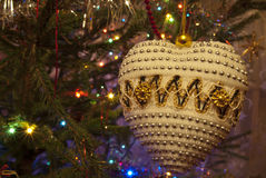 Closeup of Christmas ball from Stock Images