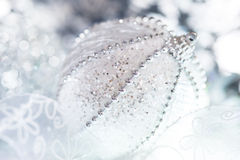 Closeup on Christmas ball Royalty Free Stock Images