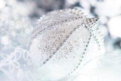 Closeup on Christmas ball Royalty Free Stock Images
