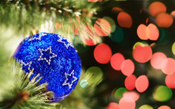 Closeup of Christmas balls from Christmas Royalty Free Stock Images