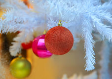 Closeup  Christmas decoration Stock Photography