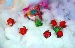Closeup of Christmas decoration Stock Image