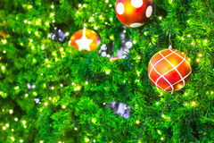 Closeup of Christmas-tree Stock Photos