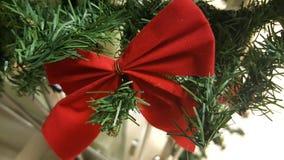 Closeup of Christmas tree decorations Stock Photo