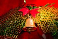 Closeup Christmas wreath Stock Photos