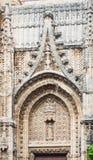 Closeup of Church of San Miguel. Jerez de la Frontera Stock Photos