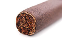 Closeup of cigar Royalty Free Stock Photos