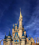 Closeup of Cinderella Castle at Walt Disney World Royalty Free Stock Photos