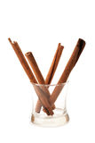 Closeup Cinnamon stick Royalty Free Stock Image