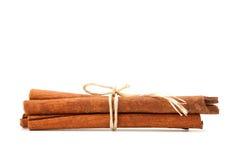 Closeup Cinnamon stick Stock Images
