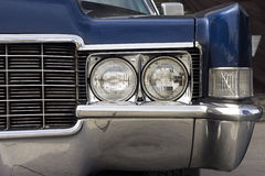 Closeup of the of a classic car Stock Photo