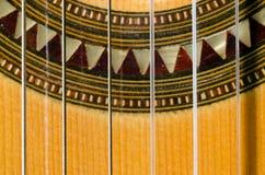 Closeup of a Classical Guitar. Close up of a classical guitar Stock Photos