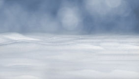 Closeup of clean fluffy snow Stock Images