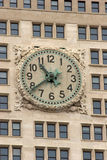 Closeup of clock face on old Met Life building Manhattan Stock Photos