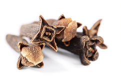 Closeup of clove spices Royalty Free Stock Photography