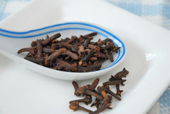 Closeup of cloves Royalty Free Stock Image