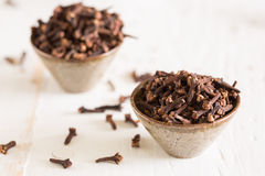 Closeup of cloves Royalty Free Stock Photography