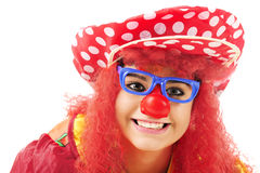 Closeup Clown Stock Photo