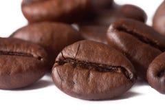 Closeup of coffe bean Stock Photography