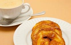 Closeup of coffee Royalty Free Stock Image