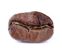 Closeup of coffee bean. On white background Stock Photo