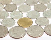 Closeup coin Royalty Free Stock Photography