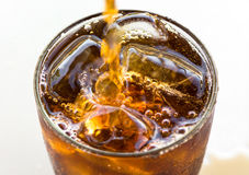 Closeup of cola Stock Photography