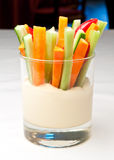 Closeup of an colorful appetizer Royalty Free Stock Photos