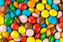 Closeup of colorful candies Royalty Free Stock Image