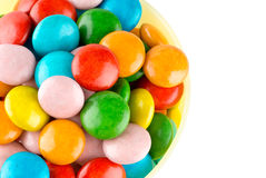 Closeup of colorful candies Stock Image