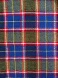 Checkered fabric background Stock Photos