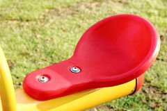 Closeup colorful children playground Royalty Free Stock Image
