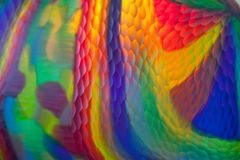 Closeup of colorful glass art Stock Image