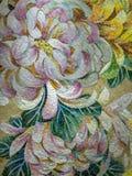Glazed ceramic mosaic puzzle royalty free stock photography