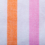 Closeup of colorful striped textile as background or texture Stock Photos
