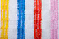 Closeup of colorful striped textile as background or texture royalty free stock photo