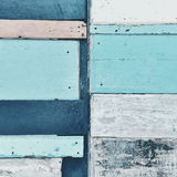 Closeup of colorful wooden background Stock Images