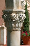 Closeup column. Detailed closeup of architectural column Stock Photo