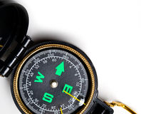 Closeup of a compass Royalty Free Stock Images