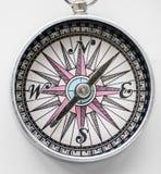 Closeup of compass navigation tool  Royalty Free Stock Photography