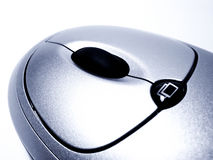 Closeup of Computer Mouse Royalty Free Stock Photography