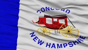 Closeup Concord Flag Royalty Free Stock Images