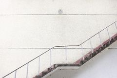 Closeup of concrete stairway Stock Photography